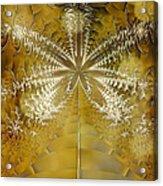 Fossil Gold Acrylic Print
