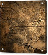 Fossilite Acrylic Print