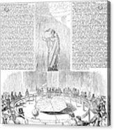 Foucaults Pendulum, 1851 Acrylic Print