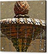 Fountain Art I Acrylic Print