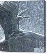 Fountain Of Faith Birdman Acrylic Print