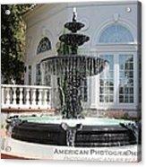 Fountains Of Love Acrylic Print