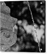 Fountain's Stream Acrylic Print