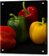 Four Peppers Acrylic Print
