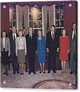 Four Presidents And Five First Ladies Acrylic Print