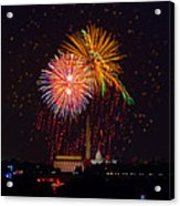 Fourth Of July Acrylic Print by David Hahn