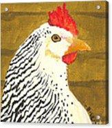 Fowl Mood Acrylic Print