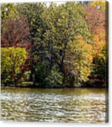 Fowler Lake 4 Acrylic Print by Franklin Conour