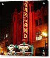 Fox Theater Acrylic Print