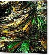 Fractal - Weed Acrylic Print