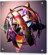 Fractal Abstract Viii Acrylic Print