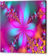 Fractal Flowers Acrylic Print