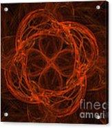 Fractal Image Acrylic Print