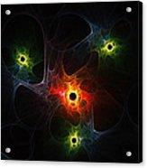 Fractal Network Acrylic Print