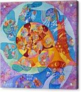 Fractal Snail Acrylic Print