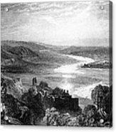 France: Chateau, 1853 Acrylic Print