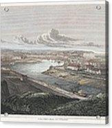 France: Dieppe, 1822 Acrylic Print