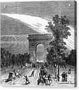 France: Meteor, 1868 Acrylic Print