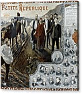 France: Socialism, 1900 Acrylic Print