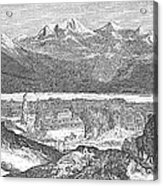 France: Spa, 1856 Acrylic Print
