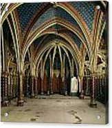 France: Ste. Chapelle Acrylic Print