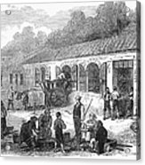 France: Winemaking, 1871 Acrylic Print by Granger