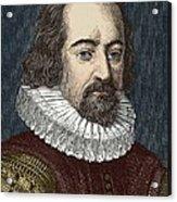 Francis Bacon, English Philosopher Acrylic Print