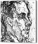 Francis Ponge (1899-1988) Acrylic Print