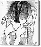 Francois Vidocq (1775-1857) Acrylic Print