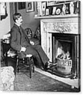 Frank Harris (1854-1931). American Writer Born In Galway, Ireland Acrylic Print