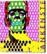 Frankenstein Acrylic Print by Ricky Sencion