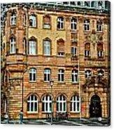 Frankfurt On A Rainy Day Acrylic Print
