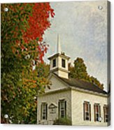 Franklin Church Acrylic Print