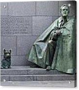 Franklin Delano Roosevelt Memorial - Washington Dc Acrylic Print by Brendan Reals