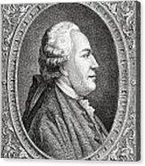 Franz Anton Mesmer, 1734-1815. Viennese Acrylic Print