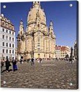 Frauenkirche And Surroundings Acrylic Print