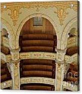 Frauenkirche Interior Acrylic Print
