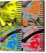 Fred Mertz In Semi-profile Acrylic Print