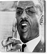Fred Shuttlesworth, Points A Finger Acrylic Print
