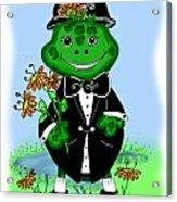Freddie Frog Acrylic Print