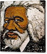 Frederick Douglas Acrylic Print by Pete Maier