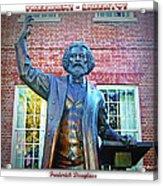 Frederick Douglass Acrylic Print by Brian Wallace
