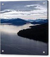 Frederick Sound Morning Acrylic Print by Mike Reid