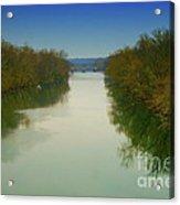 Fredericksburg Virginia River Acrylic Print