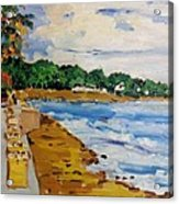 Frederiksted By The Pier Acrylic Print