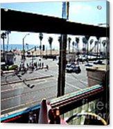 Freds Huntington Beach Acrylic Print