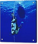 Free-diving Training Acrylic Print