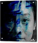 Free Spirited Creativity Acrylic Print