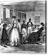 Freedmen School, 1866 Acrylic Print by Granger