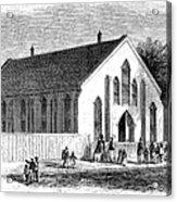 Freedmen School, 1867 Acrylic Print
